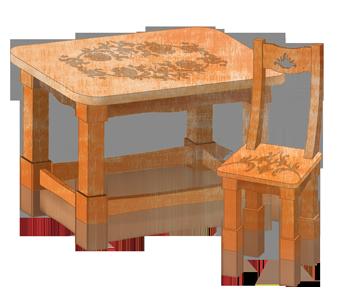 Стол Лавки массив дерева – купить в Краснодаре, цена 45 000 руб ... | 298x339
